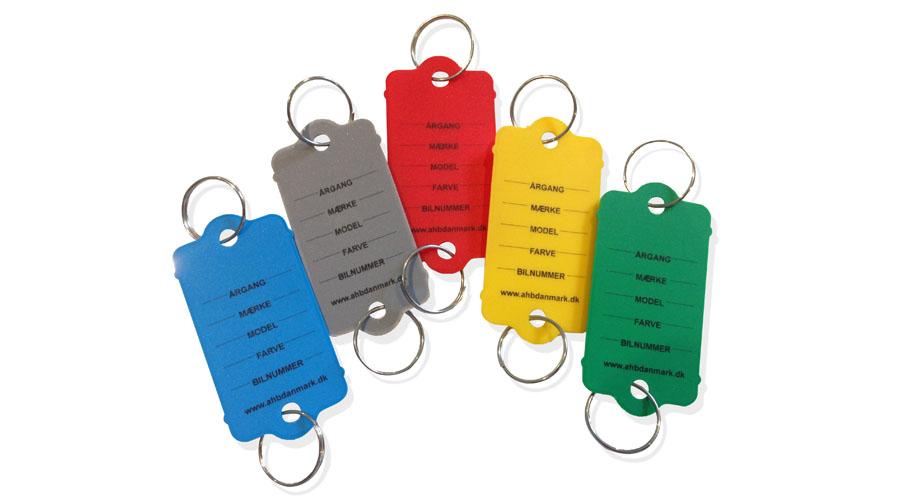 nøgletag kt3 med nøglering